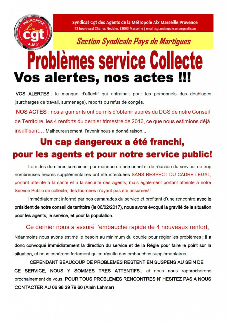 tract collecte CT6