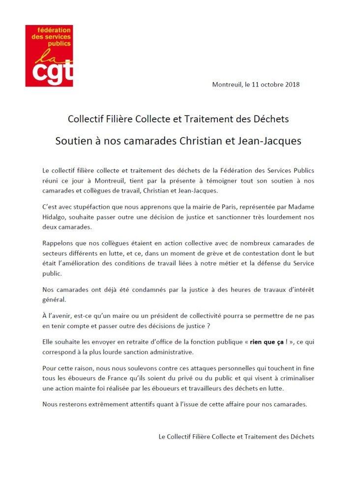 motion collectif Christian et Jean Jacques